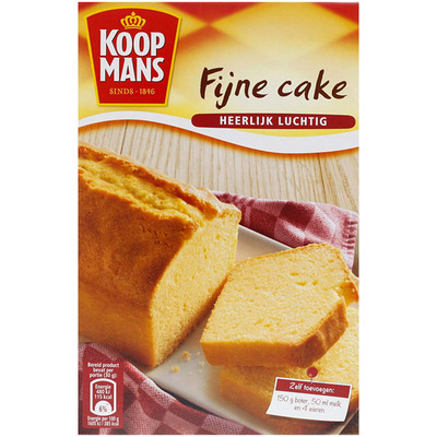 Koopmans Mix voor fijne cake
