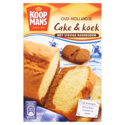 Koopmans Mix voor Oud-Hollandse Cake & Koek
