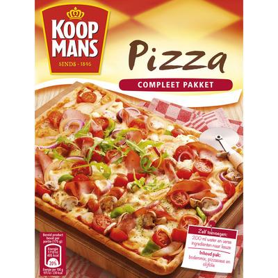 Koopmans Mix voor pizzabodem compleet