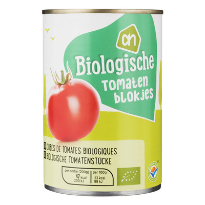 Huismerk Biologisch Tomatenblokjes