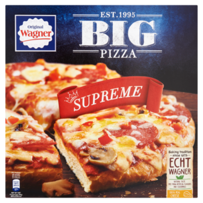 Wagner Big pizza supreme
