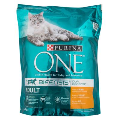 Purina One Kattenvoer adult kip & volkoren granen