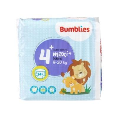 Bumblies Luiers maxi+ 4+