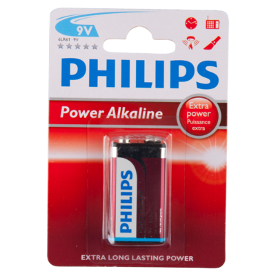Philips Batterij powerlife 9 volt blok