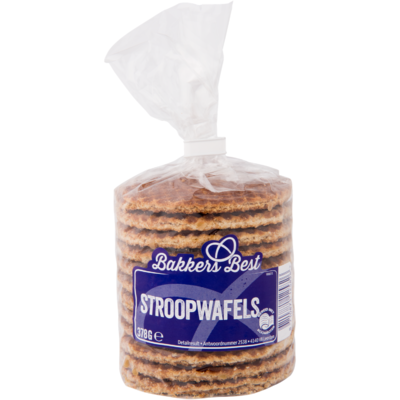 Bakkers Best Stroopwafels roombotervulling