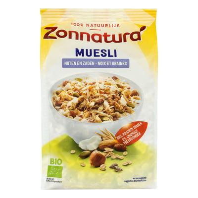 Zonnatura Muesli met noten en zaden