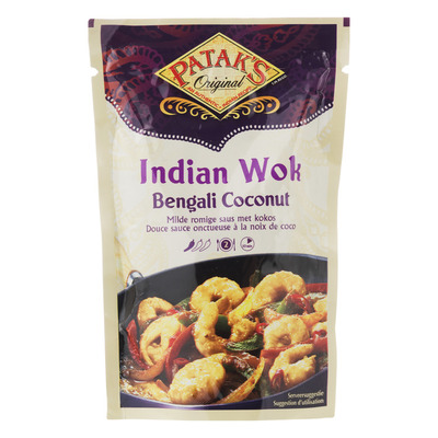 Patak's Indian wok Bengali coconut