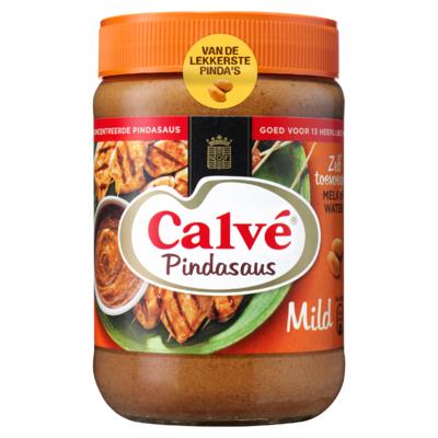Calvé Pindasaus Mild 650 g