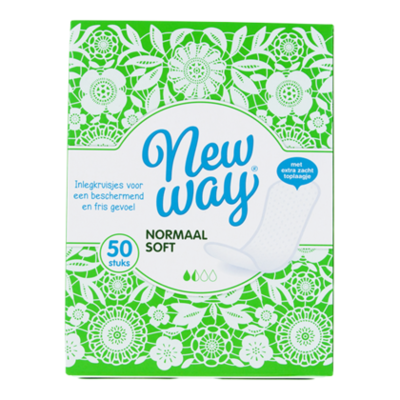 New Way Inlegkruisjes normal soft