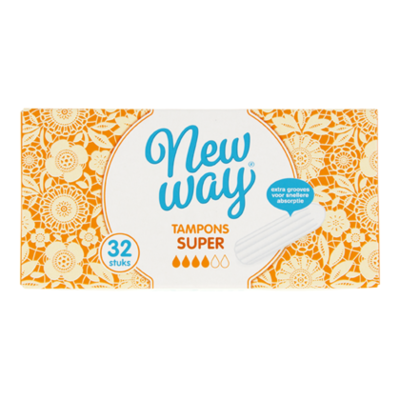 New Way Tampons super