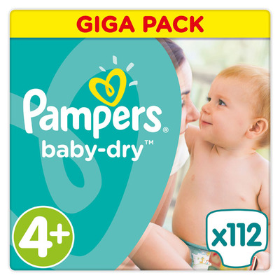 Pampers Baby-dry maat 4+