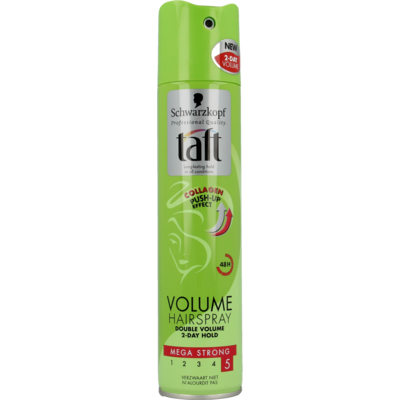 Taft Hairspray Volume Mega Strong