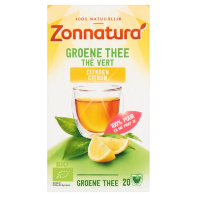 Zonnatura Groene thee citroen