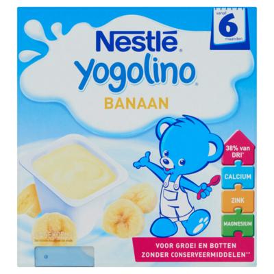 Nestle Yogolino banaan 6-36 maanden