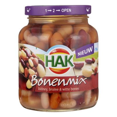 Hak Bonenmix kidney-, reuze-, bruine bonen