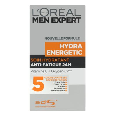 L'Oréal Men expert hydra energetic droge huid
