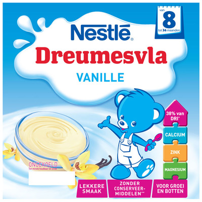 Nestlé Dreumesvla vanille 8 mnd