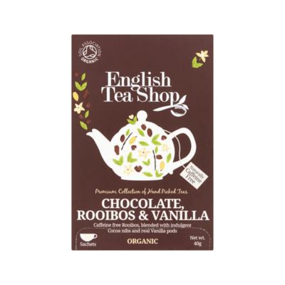 English Tea Shop Chocolate, Rooibos & Vanilla 20 Stuks