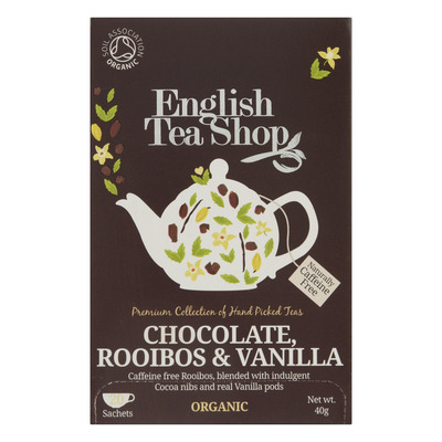 English Tea Shop Rooibos chocolade vanille biologisch