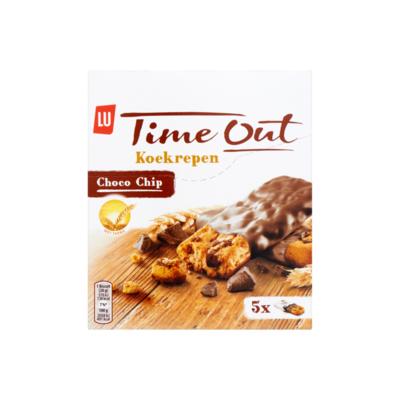 LU Time Out Koek Repen Choco Chip 5 Koekjes