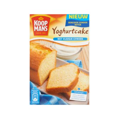 Koopmans Mix voor Yoghurtcake met Vleugje Citroen