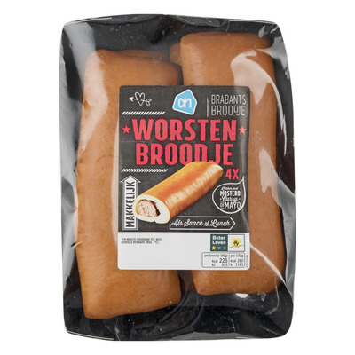 Huismerk Worstenbroodjes
