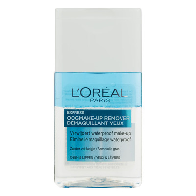 L'Oréal Paris oogmake-up remover waterproof