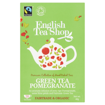 English Tea Shop Green tea Pomegranate