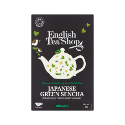 English Tea Shop Green Sencha 20 Stuks