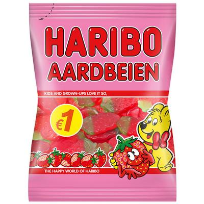 Haribo Aardbeien fruitgum