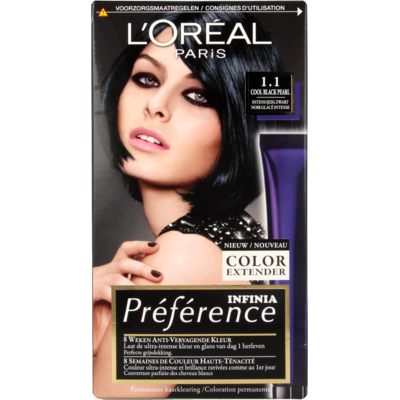 L'Oréal Préférence Infinia 1.1 Cool Black Pearl Intens IJzig
