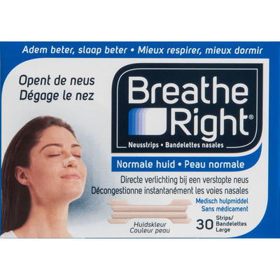 Breathe Right Neusstrips large normale huid