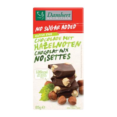 Damhert Hazelnoot melkchoc tagatose suikerbewust