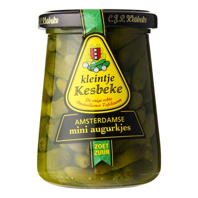 Kesbeke Kleintje Amsterdamse mini augurken