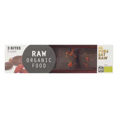 Raw Organic Food Cacao bites goji
