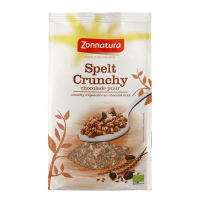 Zonnatura Spelt crunchy chocolade puur