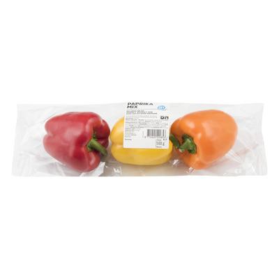 Paprika groen-rood-geel