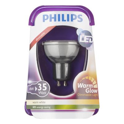Philips Ledlamp warm dim 35W GU10 220-240V