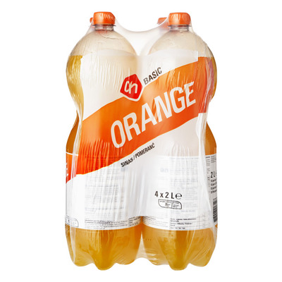 Budget Huismerk Orange 4-pack