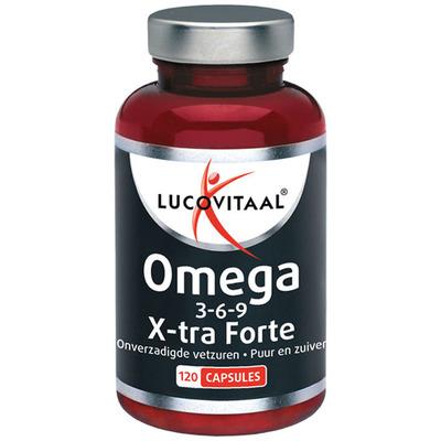 Lucovitaal Omega 3-6-9 x-tra forte capsules