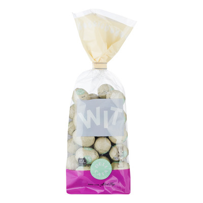 Huismerk Chocolade eitjes wit