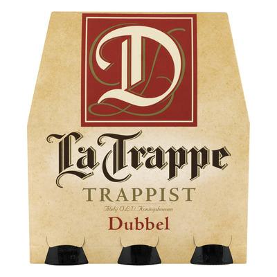 La Trappe Trappist dubbel fles speciaal bier