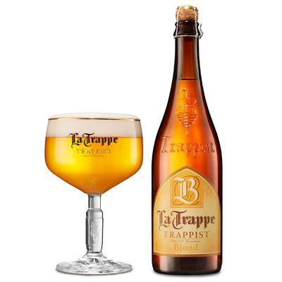 La Trappe Blond trappist fles speciaal bier