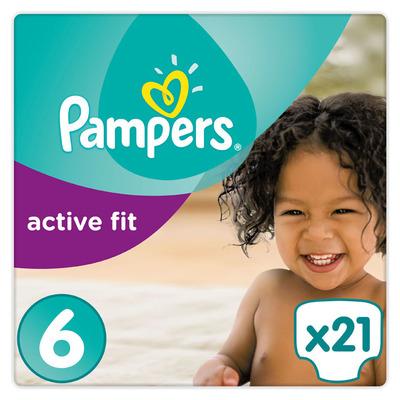 Pampers Active fit luiers maat6 (xl)15+kg