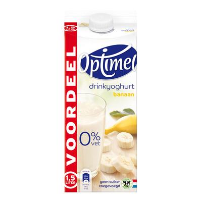 Optimel Drinkyoghurt banaan voordeel