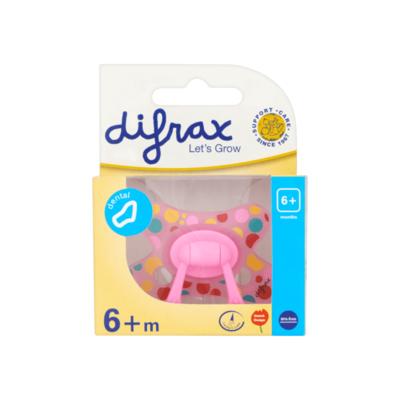 Difrax Fopspeen - Dental met Ring 6+ m