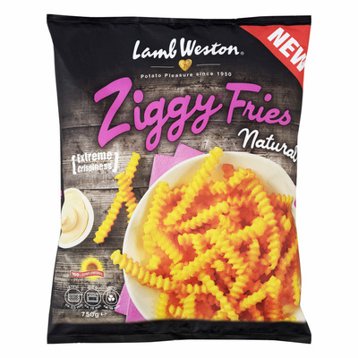 LambWeston Ziggy fries natural