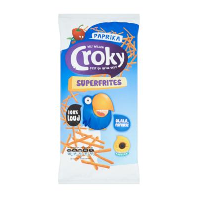 Croky Superfrites Paprika Flavour