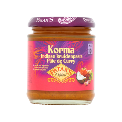 Patak's Original Korma Indiase Kruidenpasta