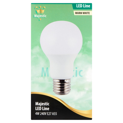 Majestic LED Line Warm White 4W E27
